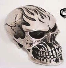 Ghost Rider Fine Pewter Shift Knob - HouseOspeed - Hot Rod Shift Knob