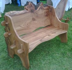 Unique bench spotted at Westonbirt's Treefest