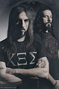 They are not a Norwegian black metal band. Rotting Christ is a Greek extreme metal band formed in They are noted for being one of the first black metal bands within this region, as well as a premier act within the European underground metal scene. Metal Music Bands, Heavy Metal Music, Rotting Christ, Goth Music, Number Of The Beast, Band Photography, Extreme Metal, Metalhead, Death Metal