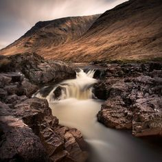Xavier Rey Photographies - Le temps d'une pose II | The Falls 2 - Glencoe, Ecosse 2011