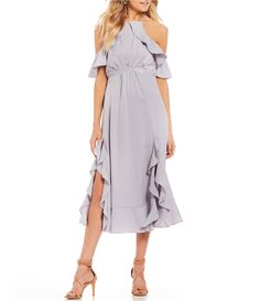Shop for Gianni Bini Carina Satin Ruffle Hem Dress at Dillards.com. Visit Dillards.com to find clothing, accessories, shoes, cosmetics & more. The Style of Your Life.