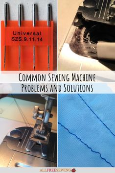 Easy sewing hacks are offered on our internet site. Take a look and you wont be sorry you did. Sewing Basics, Sewing Hacks, Sewing Tutorials, Sewing Crafts, Sewing Tips, Sewing Machine Tension, Sewing Machine Repair, Techniques Couture, Sewing Techniques