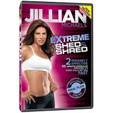 jillian michaels shredded shed: a perfect way to get the body u want for just 20 mins a day!!!!!!!