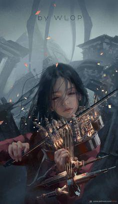 Beautiful Fantasy Art, Dark Fantasy Art, Fantasy Girl, Fantasy Artwork, Fantasy Character Design, Character Art, Digital Art Girl, Digital Art Fantasy, Animes Wallpapers