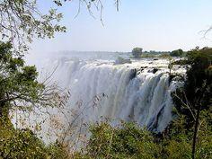 Visit Victoria Falls in Zimbabwe