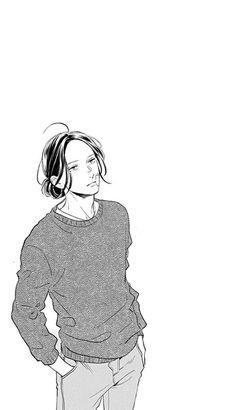 Akatsuki Kibikino | Tsubaki-chou Lonely Planet Manga Art, Manga Anime, Anime Art, Principles Of Animation, Tsubaki Chou Lonely Planet, Boy Drawing, Quirky Art, Manhwa Manga, Manga Comics