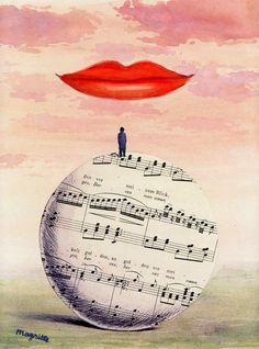 Arteeblog: René Magritte - La Reconnaissance Infinie - 1961