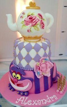 Alice in wonderland - Cake by Galatia