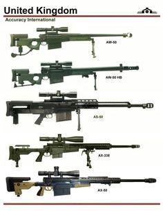 sniper rifles 50 caliber - Google Search