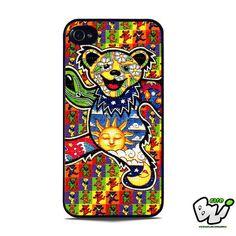 The Grateful Dead Dancing Bear iPhone SE Case