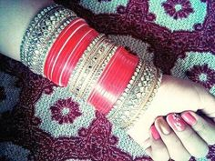 Online Shop for every customer, every range, every country. Want to Purchase our products. You can add us on our what's app no. +91 9416307694 or call us with your requirement regarding designs, colour and size of Personalize Name Bangles . We r manufacturer & wholesaler not a trader. You can also send any design of chura. We make it exactly same for you. Reseller Can contact. Punjabi Chura, Punjabi Bride, Punjabi Wedding, Wedding Chura, Indian Wedding Bride, Indian Bridal, Bridal Bangles, Bridal Jewellery, Bridal Chuda