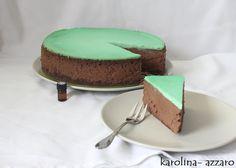 karolina-azzaro: Čokoládovo mätový Cheesecake