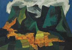 Oswaldo Guayasamín (Ecuadorian, 1919–1999) Title: Ciudad de Quito