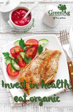 Invest in health, eat #organic. #health #preservativefree #paleo #eatwell #freerangefarming #organicturkey #recipes