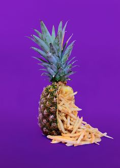 """<p>By now you should know that we are always fond of foodandfruit concepts.  The """"Junk Fruit"""" series by French photographer Arnaud Deroudilhe shows a mix of healthy and junk by lit"""