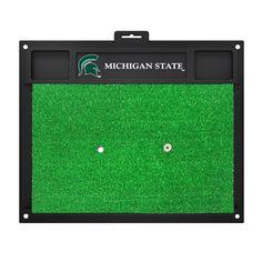 Collegiate Michigan State University Golf Hitting Doormat