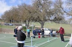 Paso Robles Pickleball Club Demonstration Clinic at Heritage Ranch, Paso Robles, CA 3/5/13