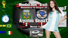 Argentina Bosnia 2-1 Messi - Tabellino Mondiali 2014 Gruppo F