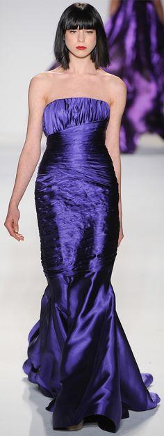 Farah Angsana Fall 2012 Ready-to-Wear Fashion Show High Fashion Dresses, Fashion Outfits, Beautiful Gowns, Beautiful Outfits, Gq, Mode Glamour, Purple Reign, Purple Fashion, Shades Of Purple