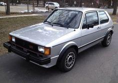1983 VW Volkswagen GTI Silver