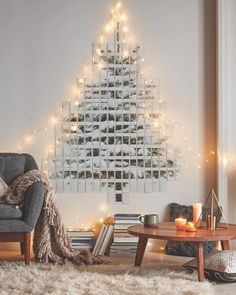 Sometimes a DIY tree is the best tree. #UOHome #urbanoutfitters by urbanoutfitters