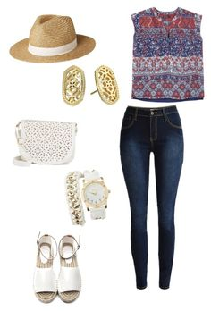 """Untitled #153"" by kmysoccer on Polyvore featuring Violeta by Mango, Under One Sky, Kendra Scott, Charlotte Russe and Lipsy"