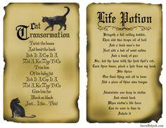 Disney inspired hocus pocus spells