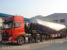 70CBM 3 axles bulk cement trailer