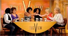 The TV Watch - Michelle Obama Shows Her Warmer Side on 'The View' - NYTimes.com