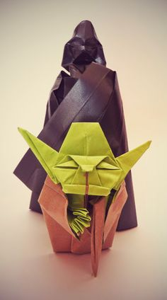 Best Of origami Darth Vader . How to Make An origami Darth Vader From Star Wars In 5 Minutes Star Wars Origami, Origami Yoda, Origami Ball, Diy Origami, Origami Star Box, Origami And Quilling, Origami Dragon, Origami Fish, Elementary Art