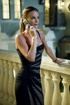 Gabrielle Anwar. love her. love that dress.
