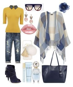 """""""Outfit 36"""" by bagordocinzia ❤ liked on Polyvore featuring Vince Camuto, Hollister Co., Dorothy Perkins, Prada, Oasis, Effy Jewelry, CÉLINE, Lime Crime, Marc Jacobs and Accessorize"""