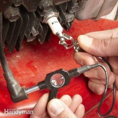 Learn how testing the ignition coil can be quick and easy using a special ignition system tester. It's inexpensive and works for any small engine. Lawn Mower Maintenance, Lawn Mower Repair, Ignition System, Ignition Coil, Engine Repair, Engine Start, Car Hacks, Small Engine, Oil Change