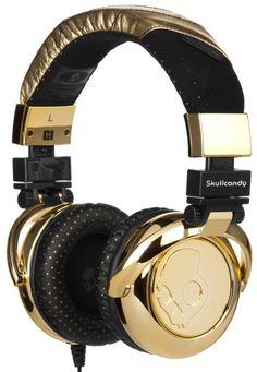 bfaf0fdc72e Gold Skullcandy G.I. Stereo Headphones Over Ear Headphones, Stereo  Headphones, Best Headphones, Headset