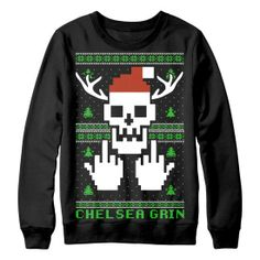 chelsea grin ugly christmas sweater - Band Christmas Sweaters