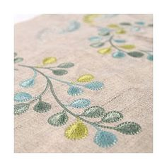 Fresh Greens embroidery patterns 36 Designs