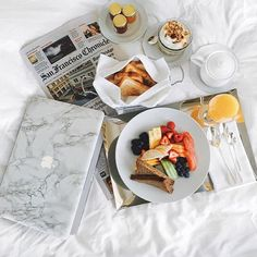Adore this MacBook marble cover. And the breakfast in bed spread is pretty nice too! @liketoknow.it www.liketk.it/1BBZ7 #liketkit