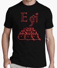 T-shirt E STI..NEON ROSSO