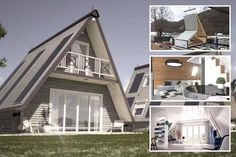 Flat pack home which costs £24.8k and takes just six hours to build