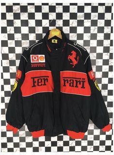 Nascar Jackets, Team Jackets, Race Car Jackets, 90s Jackets, Cool Jackets, Retro Outfits, Cute Casual Outfits, Vintage Outfits, Vintage Clothing