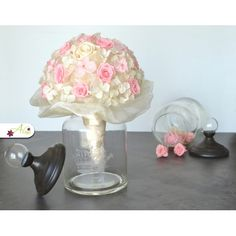 Romantická svadobná kytica z ruží