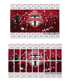 Toronto FC Season Ticket Design