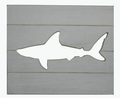 Shark Stencil To Make Different Decor For Noah 39 S Room House Stuff Pinterest Sharks Decor