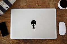 Alien MacBook Decal by vinylinfusion on Etsy