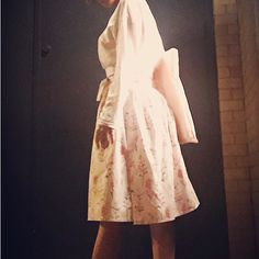 Korean Traditional Wrap Skirt watercolor on the peachpink #travel #usa with #handmade #handmadeskirt #autumn #fashion #style #skirt  it's my #sewing #sewingproject #oriental #hanbok #korea #watercolor #peachpink #fabric #forest #sounlim #소운림 #핸드메이드 #생활한복 #한복스타그램 #한복여행