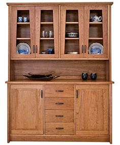 $6200 modern buffet and hutch... made in USA = super expensive