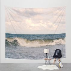 Ocean tapestry, photo tapestry, nautical tapestry wall hanging, coastal large wall decor, nature tapestry, modern decor, beach tapestry by OurArtCloset on Etsy https://www.etsy.com/listing/229088052/ocean-tapestry-photo-tapestry-nautical