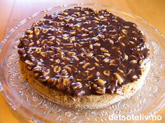 """Mandelkake med peanøttsjokolade"" er KNALLGOD! Sweet Recipes, Cake Recipes, Norwegian Food, Norwegian Recipes, Something Sweet, Let Them Eat Cake, No Bake Cake, Granola, Sweet Treats"