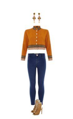 Wie findest du mein Outfit? Ohrringe #DolceandGabbana Jacke #Topshop Jeans und Schuhe  #RiverIsland