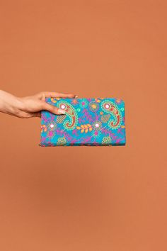 Paisley purse. (More colours available)